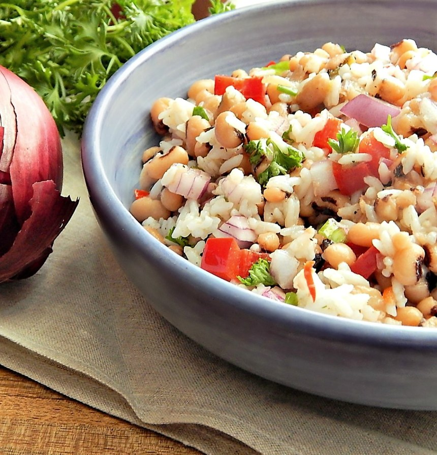 Black Eyed Pea & Rice Salad
