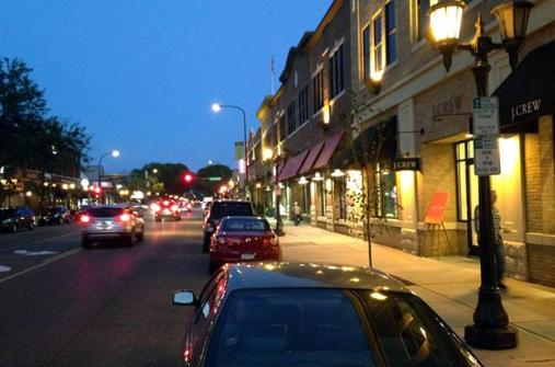 Photo of Grand Avenue by Bill Lindeke from this Minn Post article.