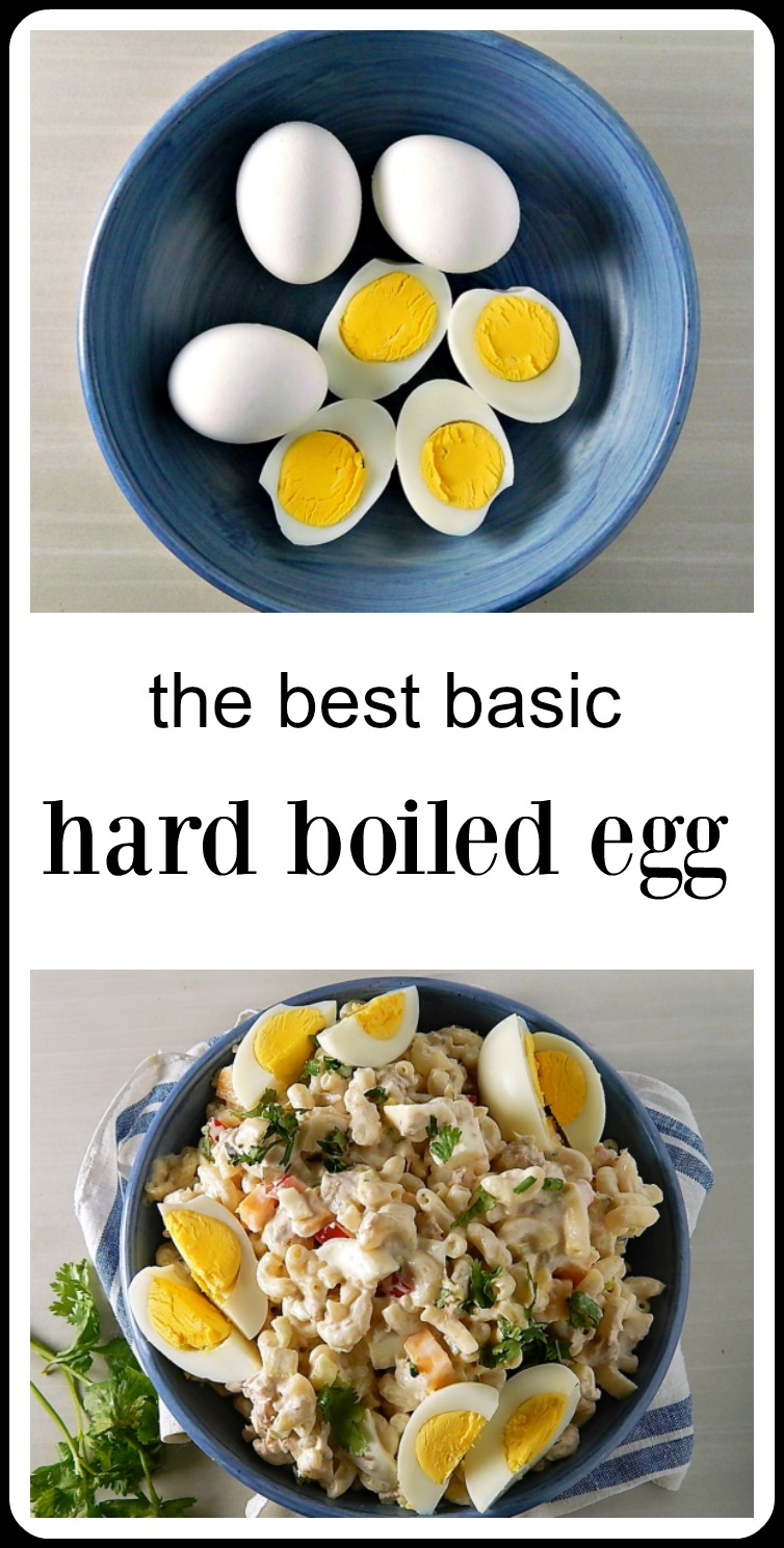 I can never remember how long to let my hard boiled eggs sit, so just in case that's a problem for you, too, here is the recipe for the Best Basic Hard Boiled Eggs. Now your hard boiled eggs will be perfect every time! #BestHardBoiledEggs #HardBoiledEggs #ClassicHardBoiledEggs