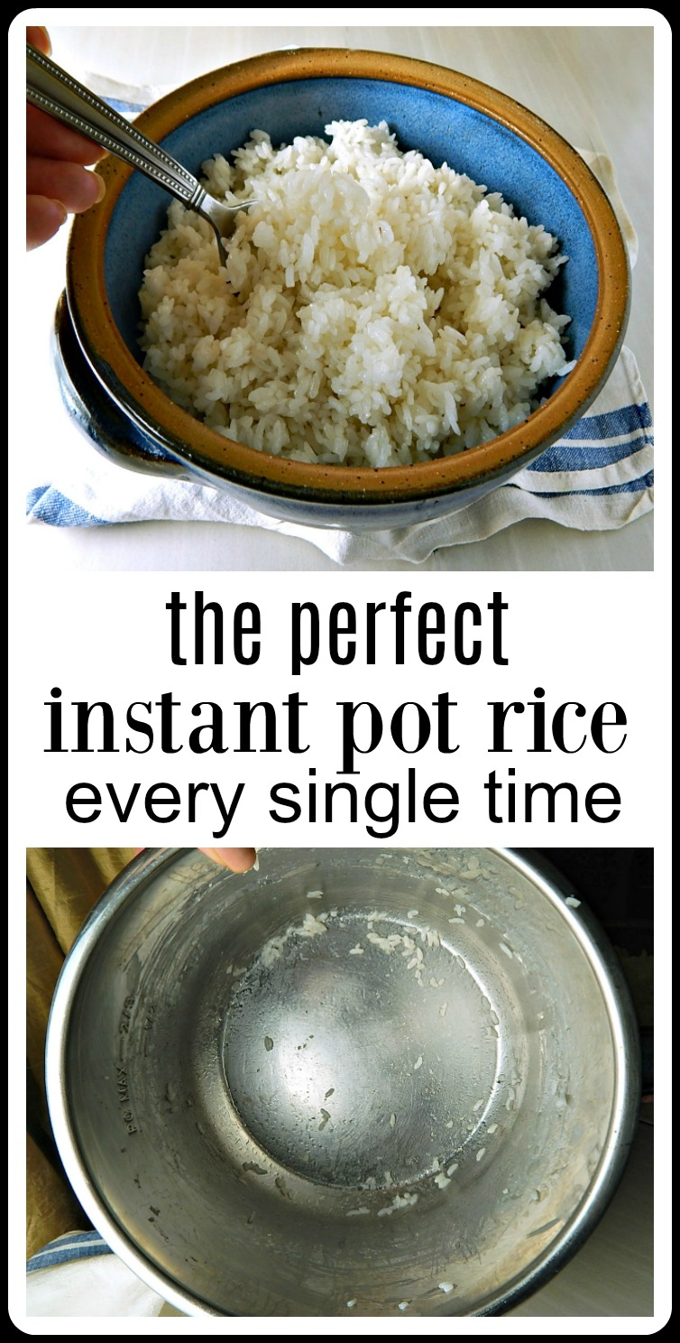 Are you having issues with your Instant Pot Rice? I did too when I first started. A bit of practice and applying some time-honoredrice cooking principles did the trick. Now my Perfect Instant Pot Rice turns out perfectly every time. #InstantPotRice #PerfectInstantPotRice #HowToMakeInstantPotRice