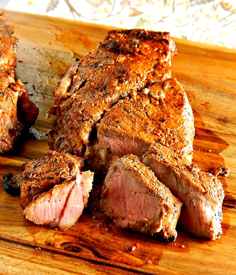 New York Strip Steak with Southwestern Rub