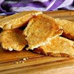 Parmesan Crusted Crostini