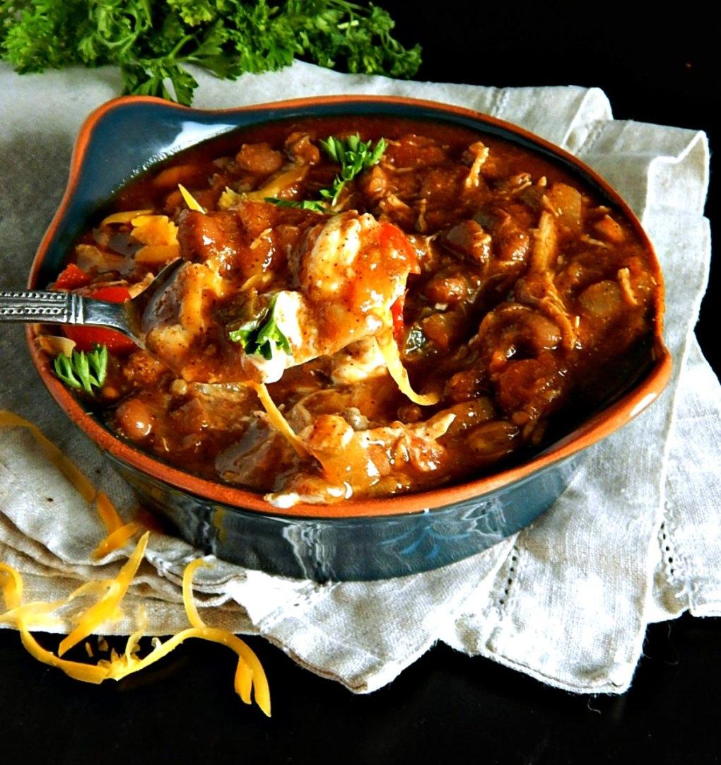 Barbecue Chicken Chili