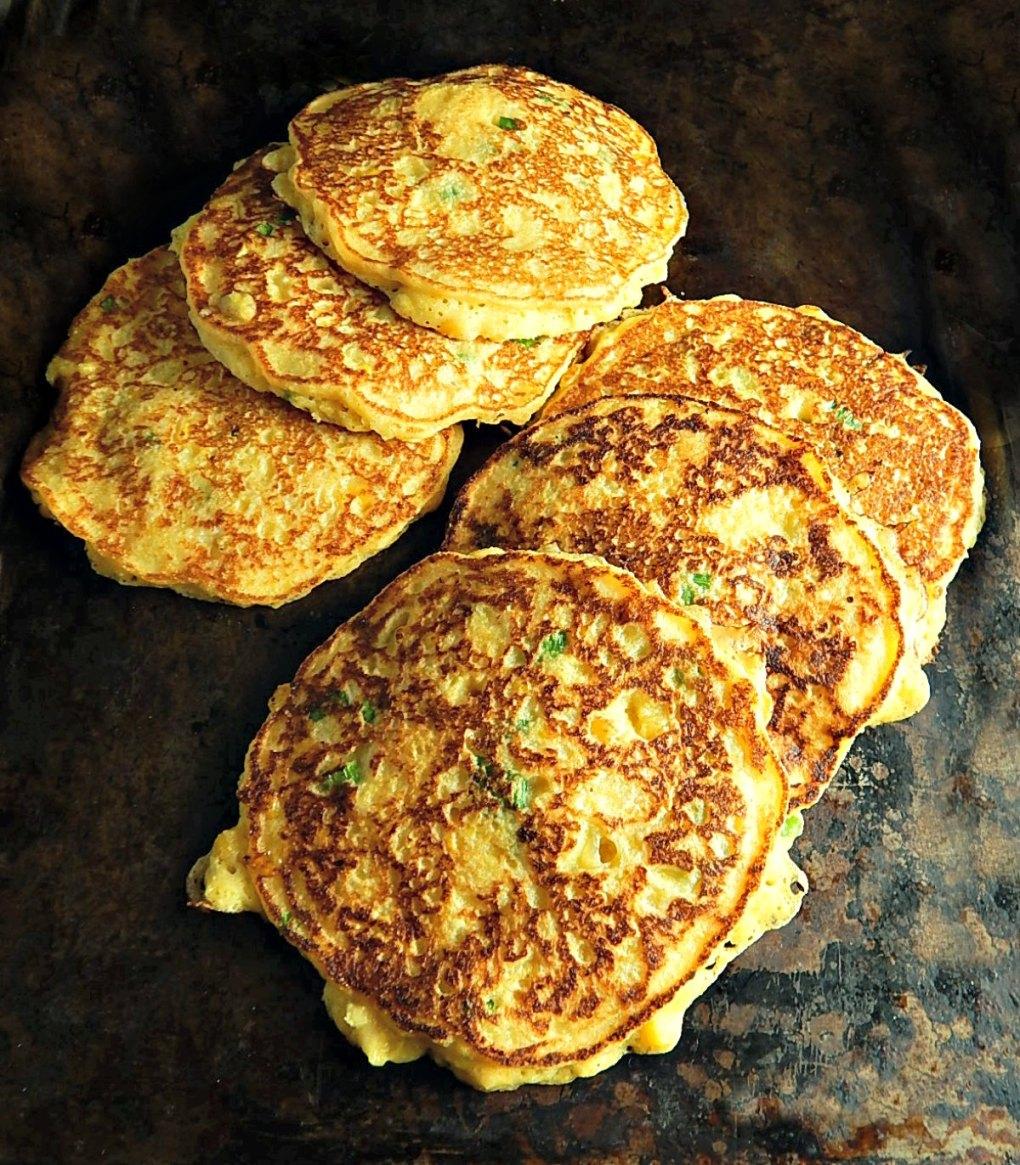 Corn Fritter Pancakes