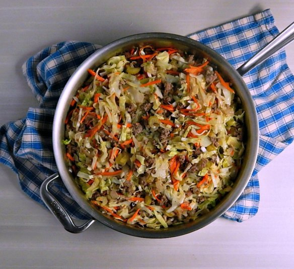 Unstuffed Egg Roll Skillet Dinner