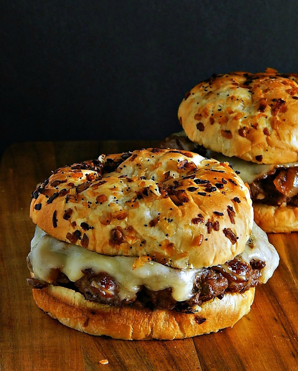 rench Onion Soup Burgers