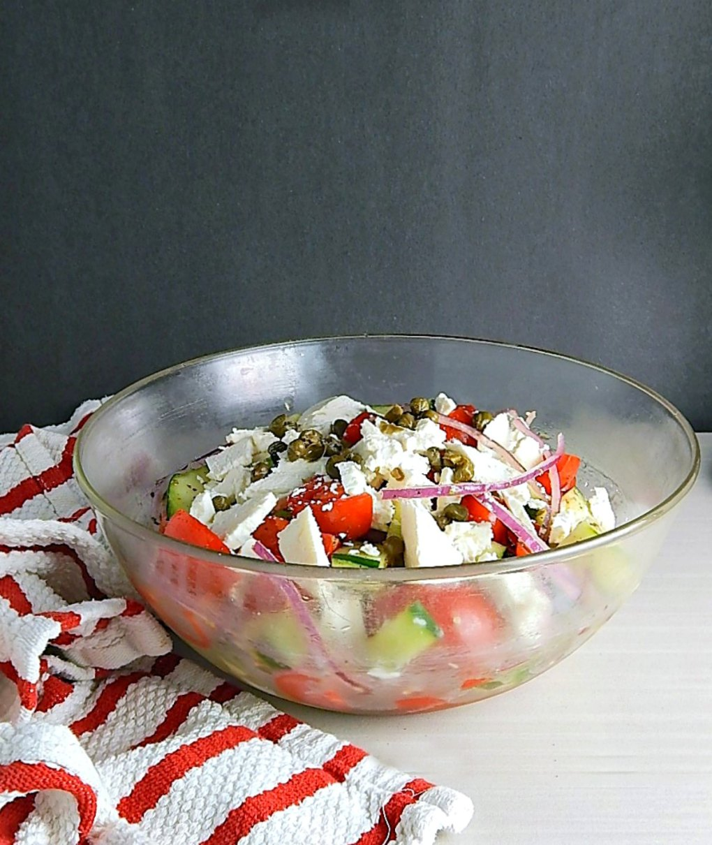 Horiatiki Greek Salad