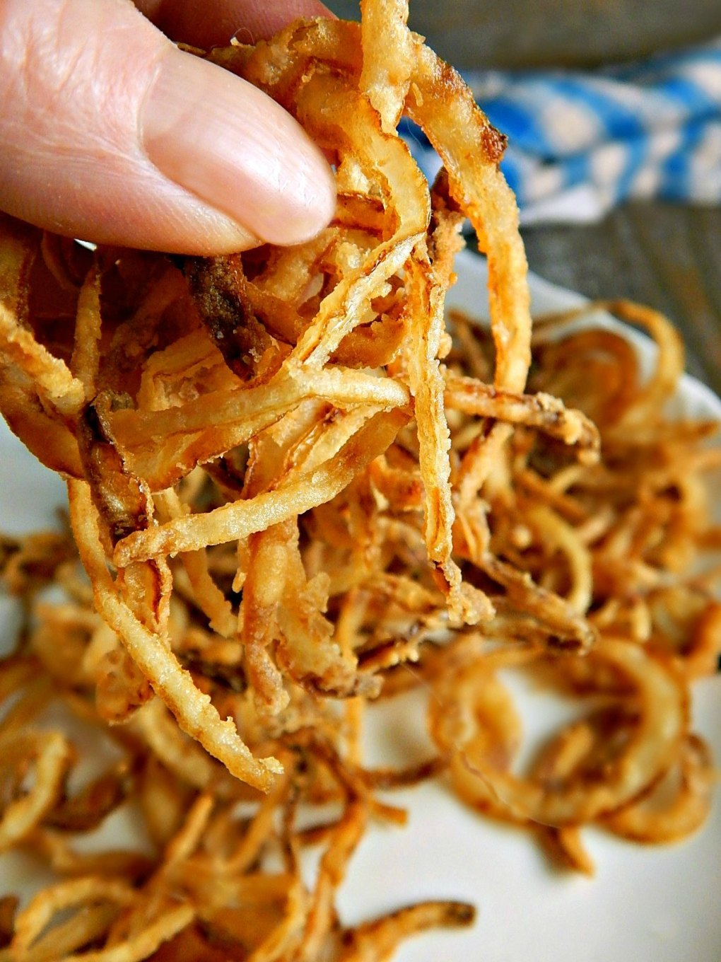Copycat French's Crispy Onion Rings
