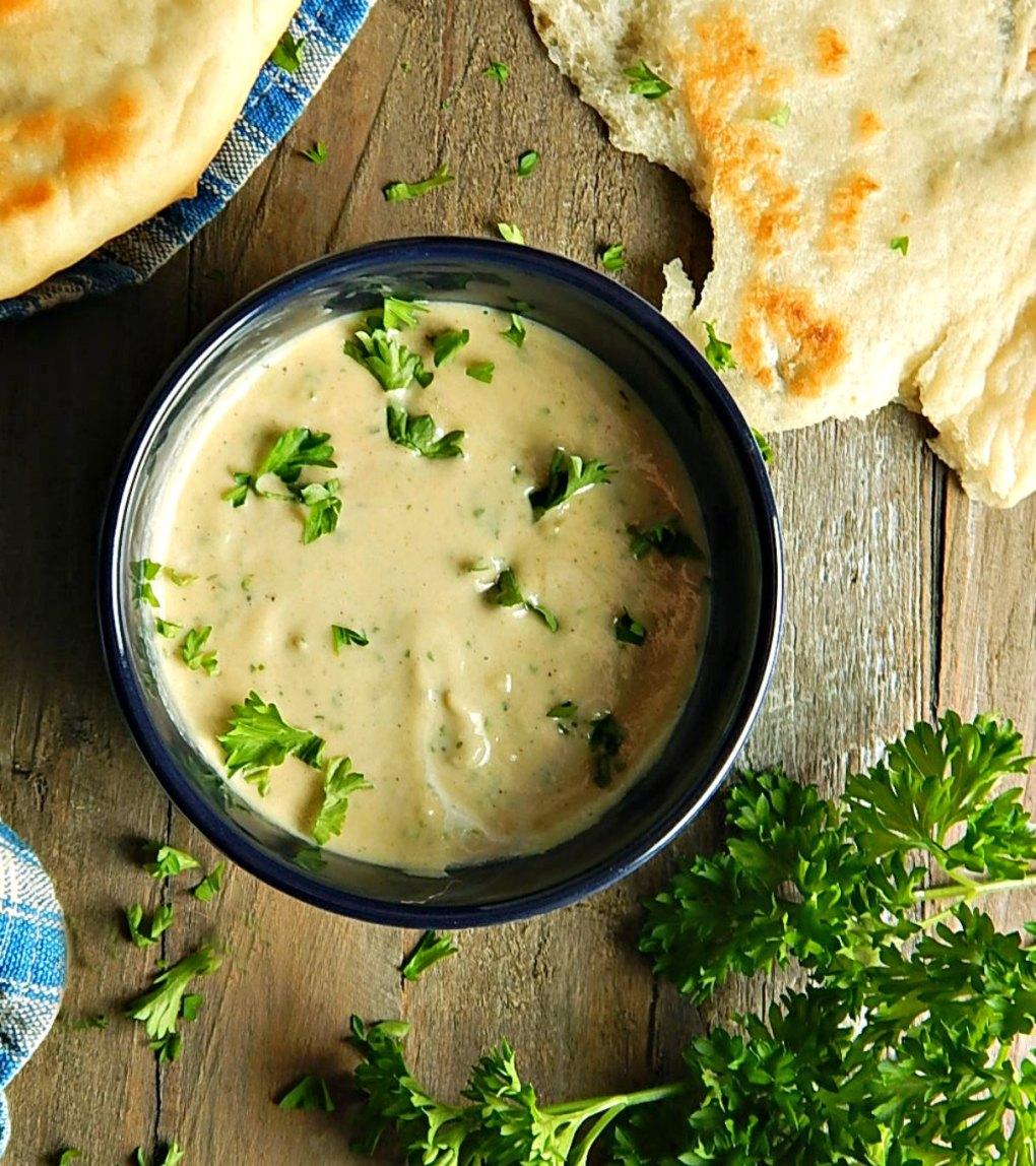Lemon Garlic Tahini Sauce