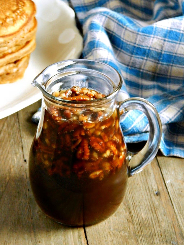 Bacon Pecan Syrup