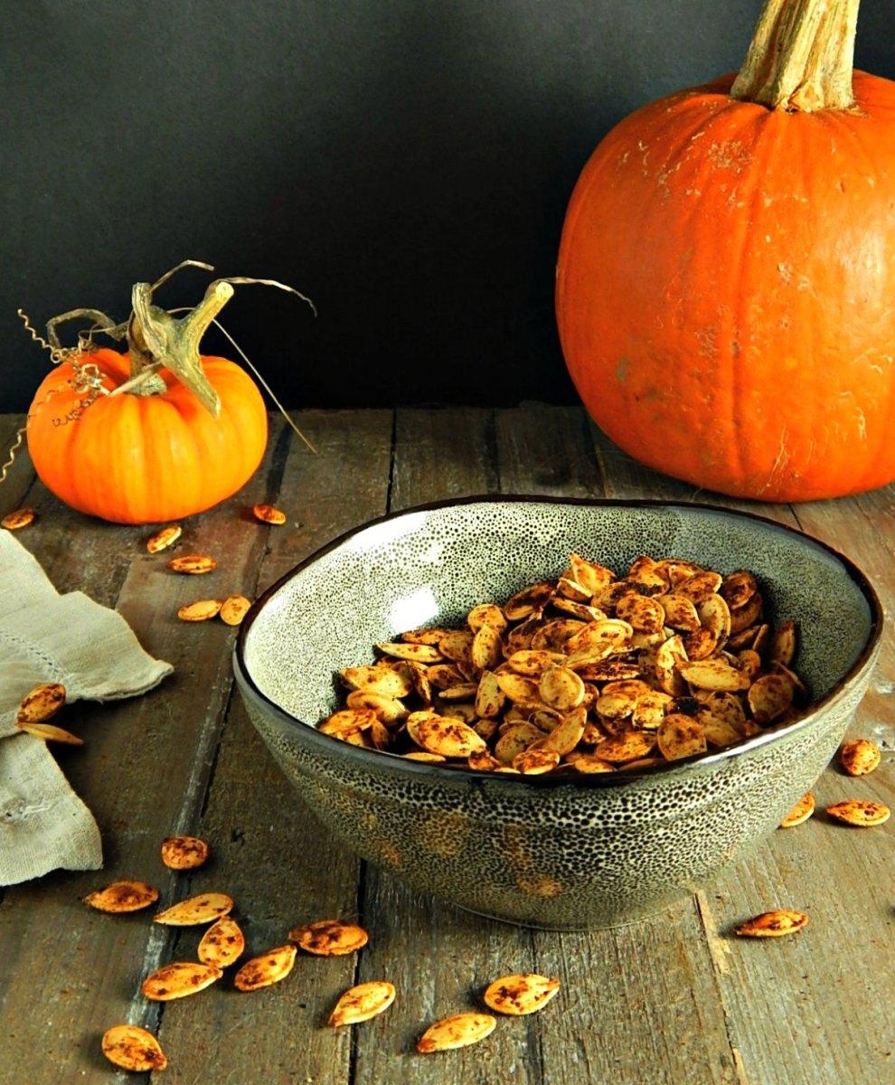 The Best Roasted Pumpkin Seeds
