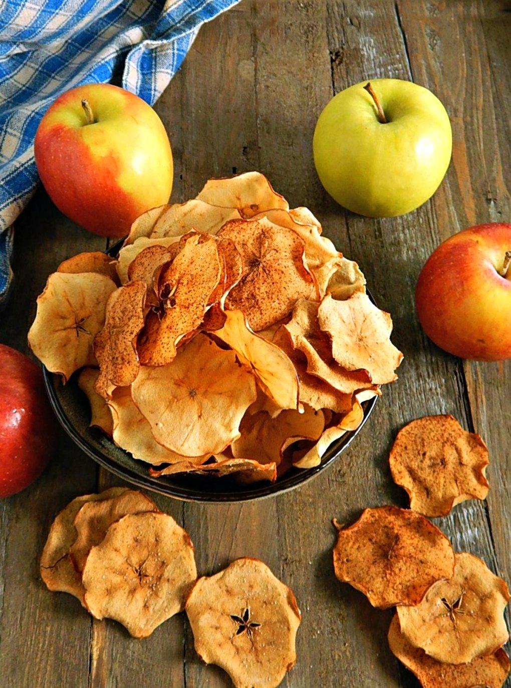 Oven Baked Apple Chips