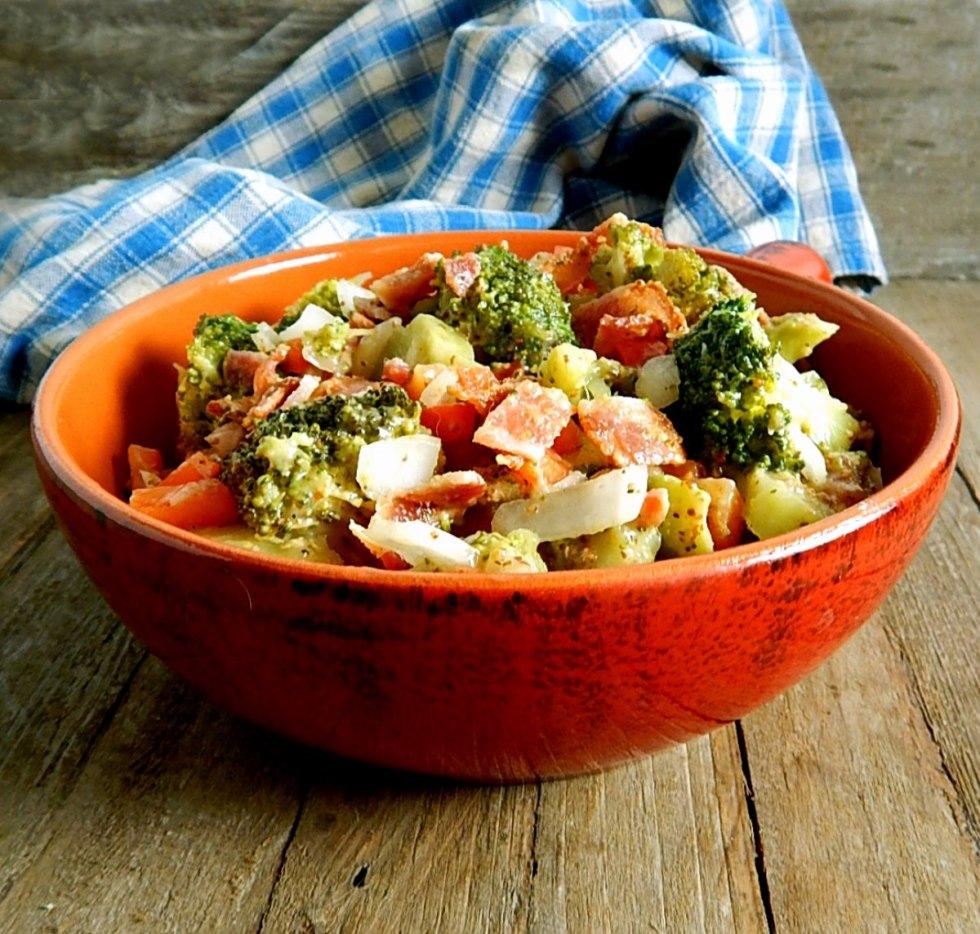Pennsylvania Dutch Broccoli & Bacon