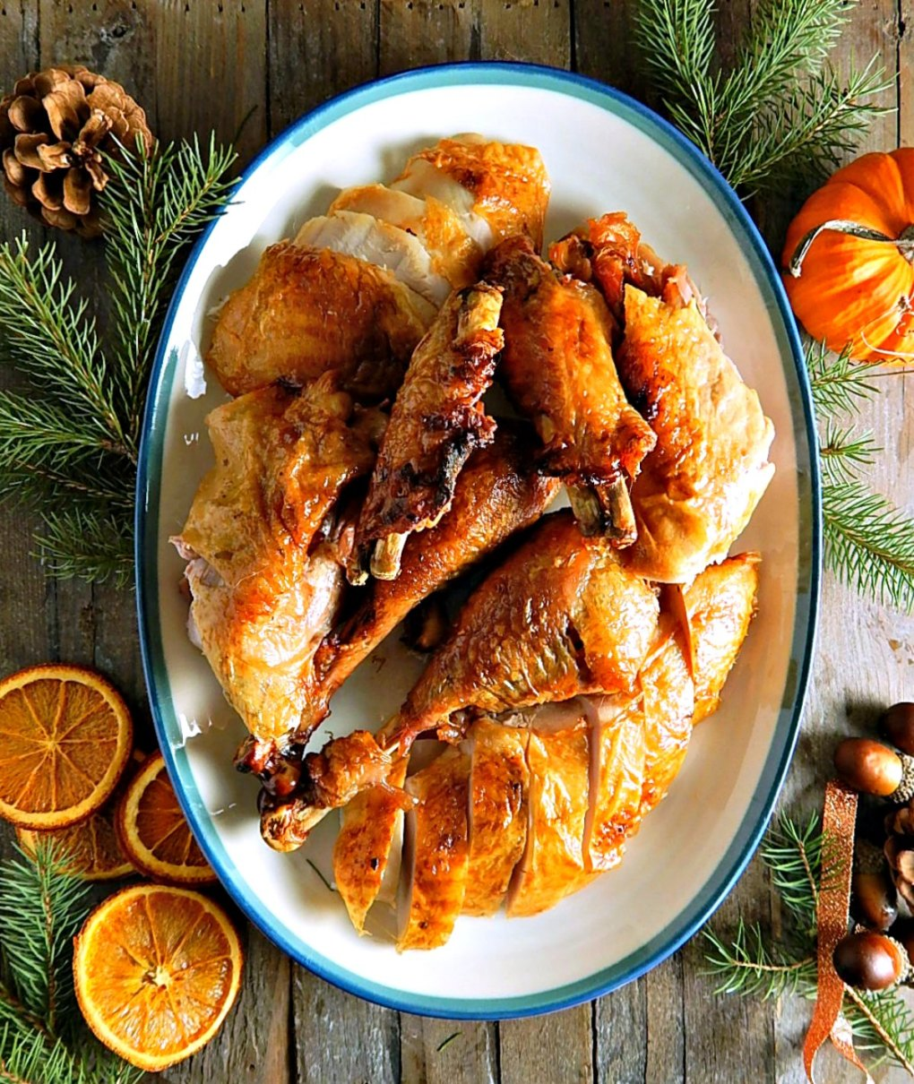 Almost Bon Appetit's Dry Rubbed Turkey