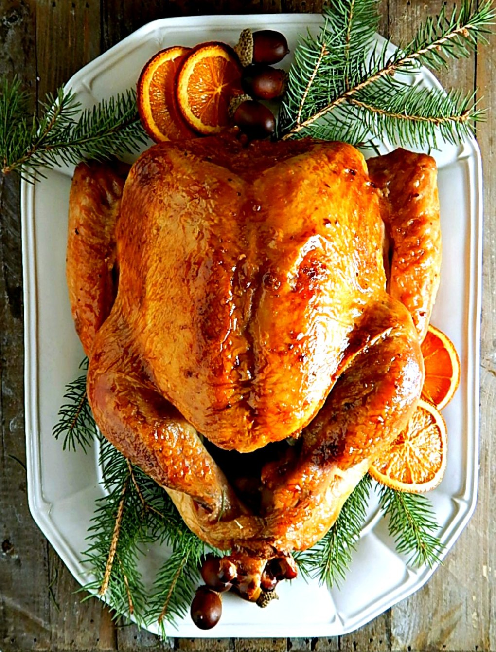 Almost Bon Appetit's Dry Rubbed Turkey