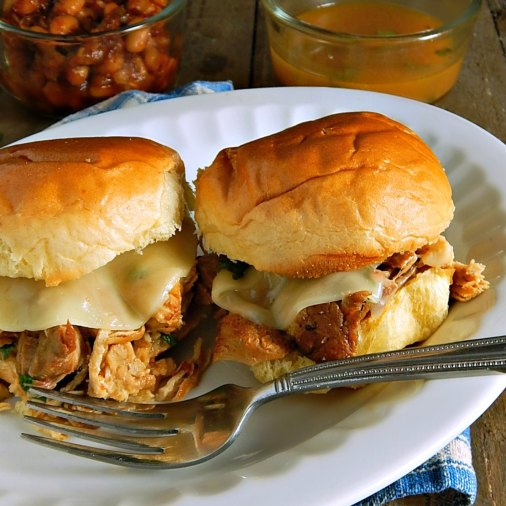 Shortcut Philly Roast Pork Sandwiches