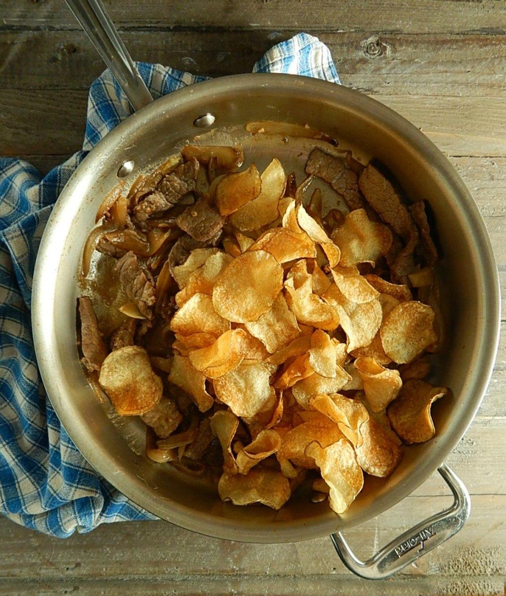 Vietnamese Beef & Potatoes Bo Xao Khoai Tay