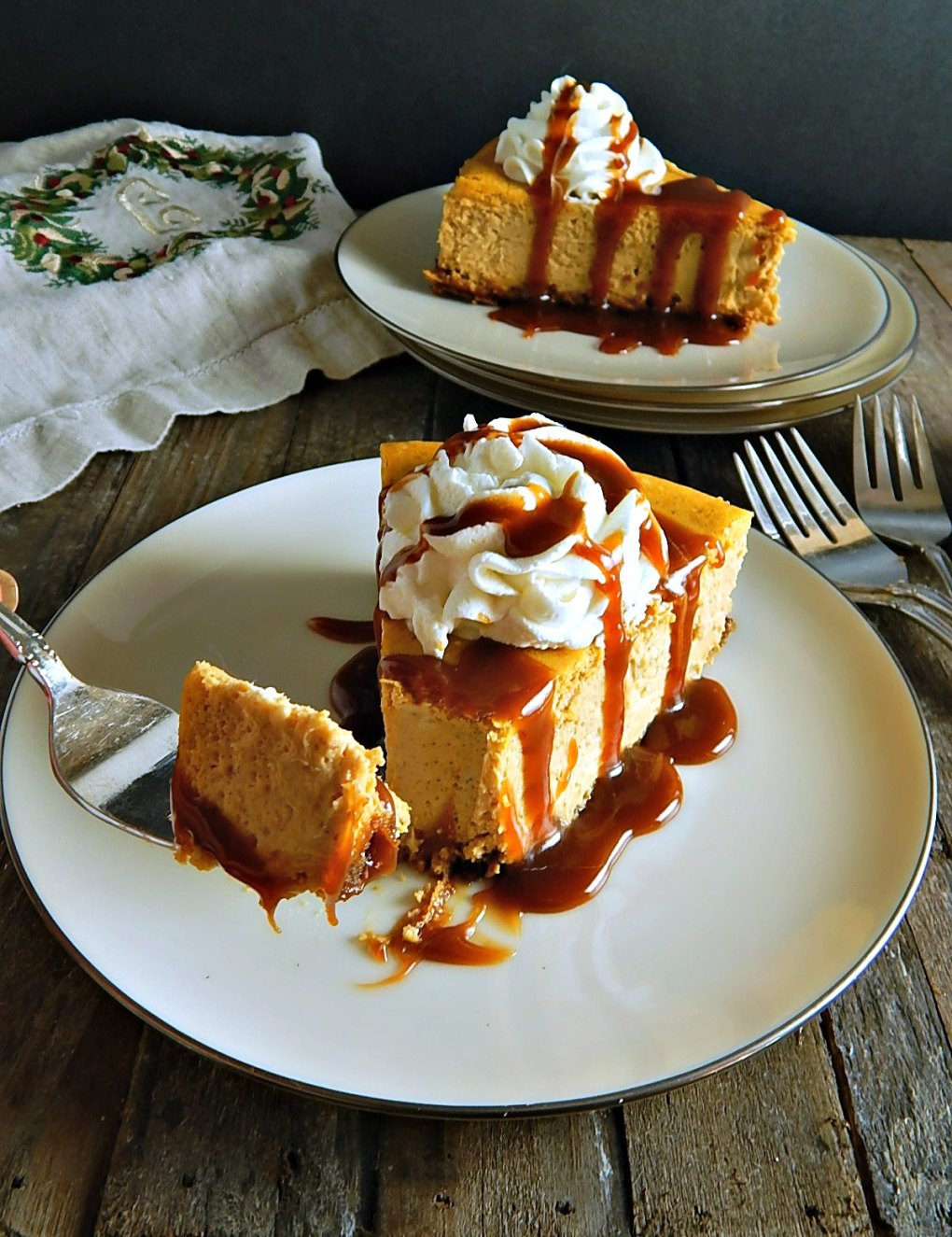 Martin Sheen's Pumpkin Cheesecake