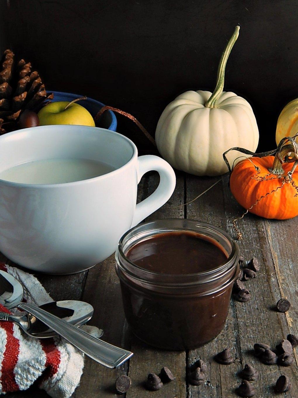 Refrigerator Hot Chocolate Mix