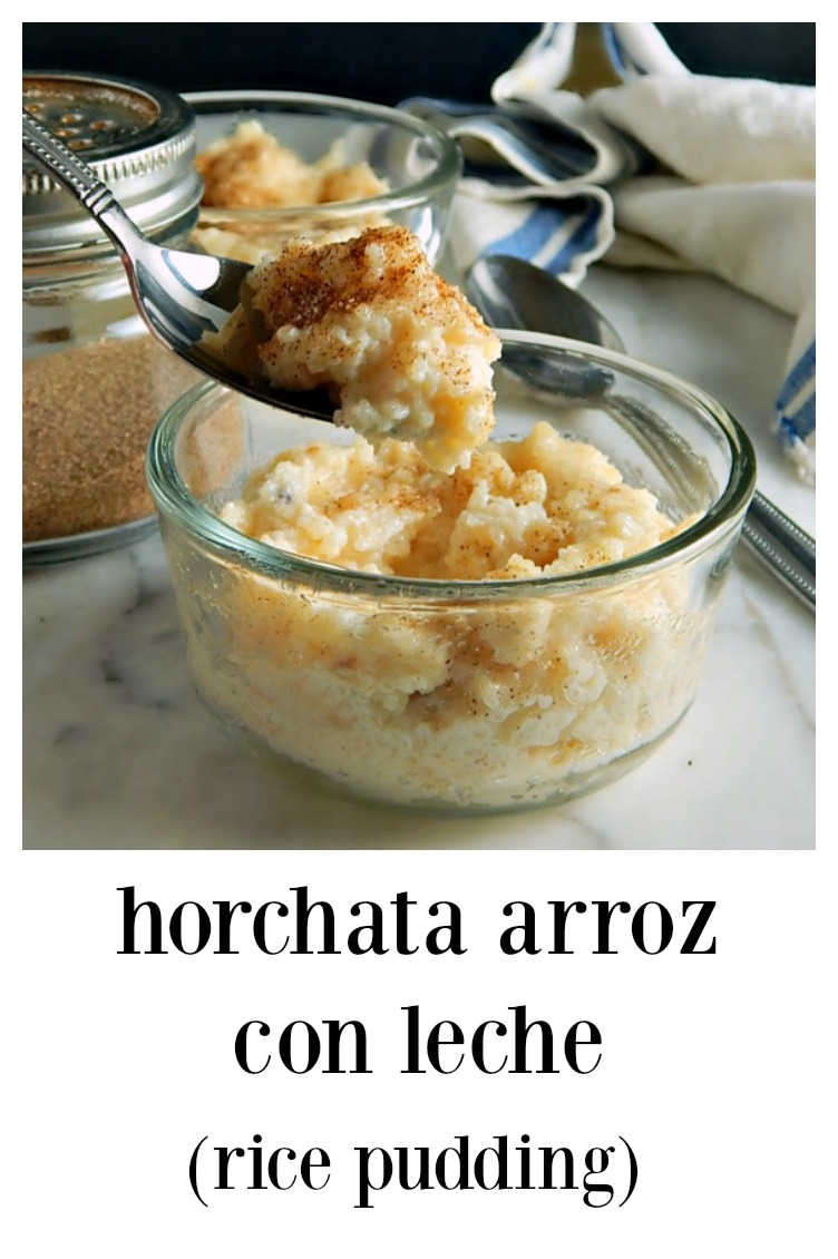 Horchata Arroz con Leche (Rice Pudding) is made from the rice leftover from making Horchata. These little puds are unbelievably creamy & rich! #RicePudding #HorchataRicePudding #LeftoverHorchataRice