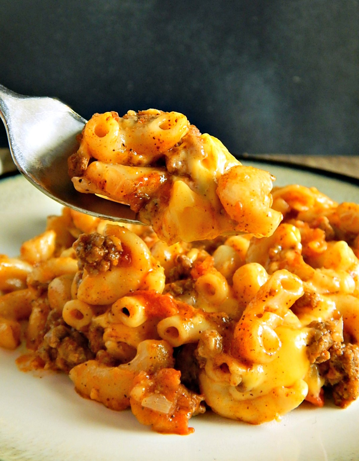 Easy Cheesy Chili Mac - Instant Pot or Not - Frugal Hausfrau