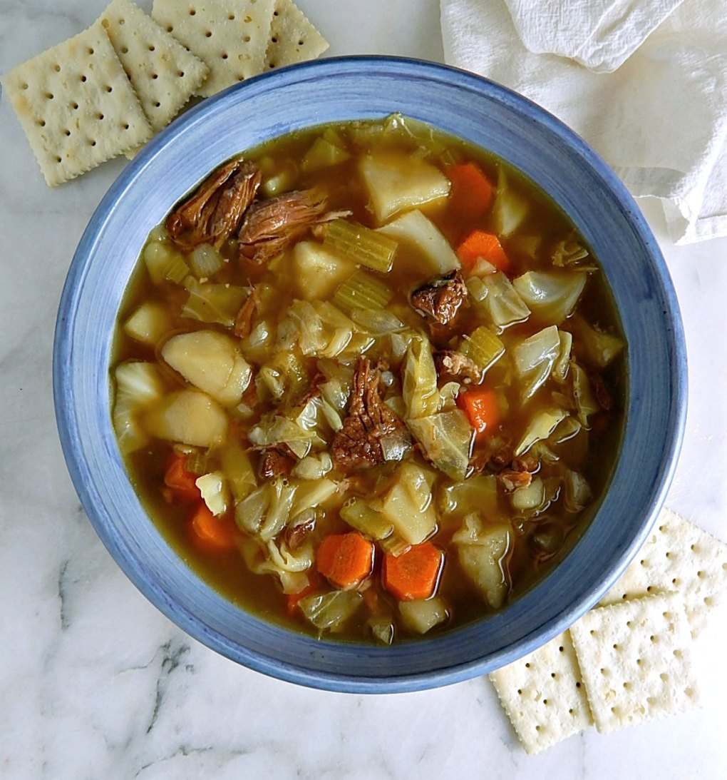 Old Fashioned Ham Bone Soup
