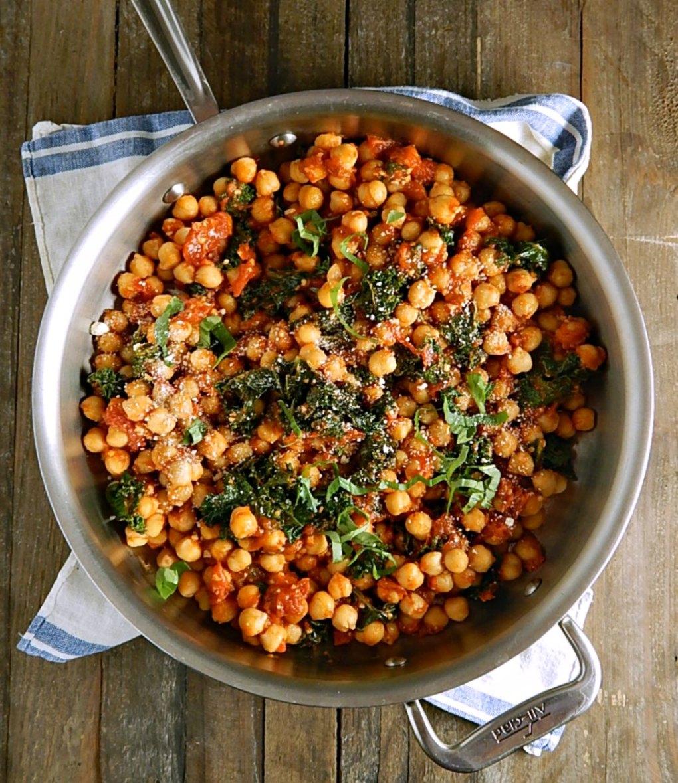 Spicy Pomodoro Chickpeas