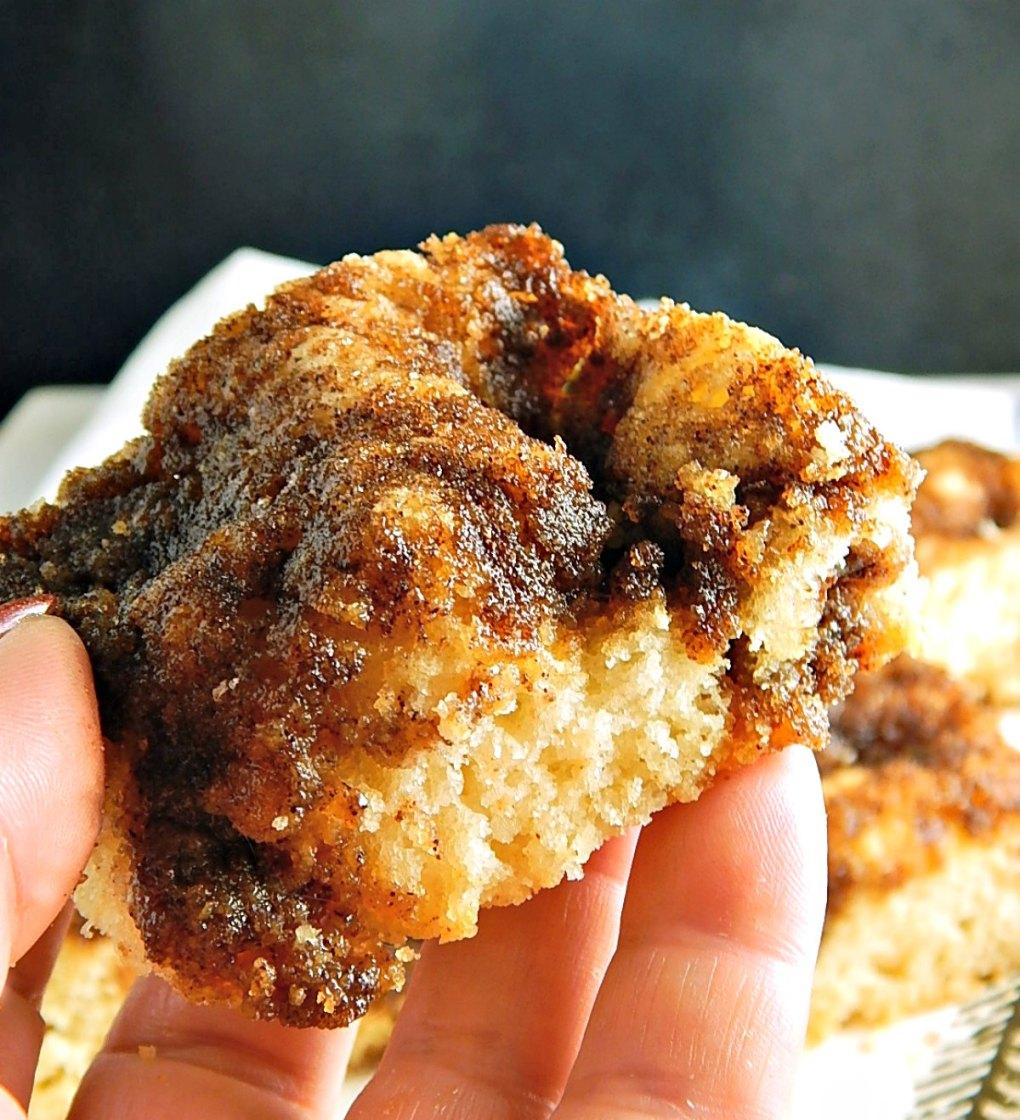 Moravian Cinnamon Flop Cake