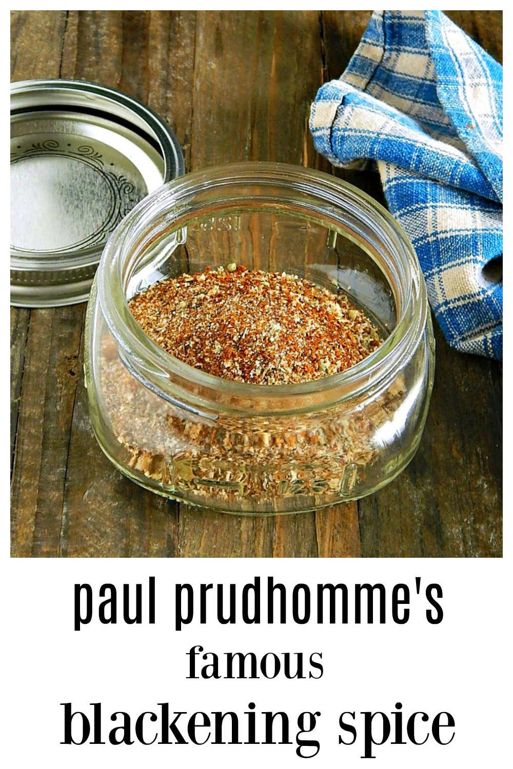 This is it, the original Paul Prudhomme's Blackened Seasoning Spice; this Cajun seasoning made the New Orlean's chef famous. Sprinkle it on everything!! #BlackenedSeasoning #PaulPrudhomme #PaulPrudhommesBlackenedSeasoning #PaulPrudhommesBlackenedSpice #PaulPrudhommesRedfishSeasoning #PaulPrudhommesBlackeningSpice #NewOrleans