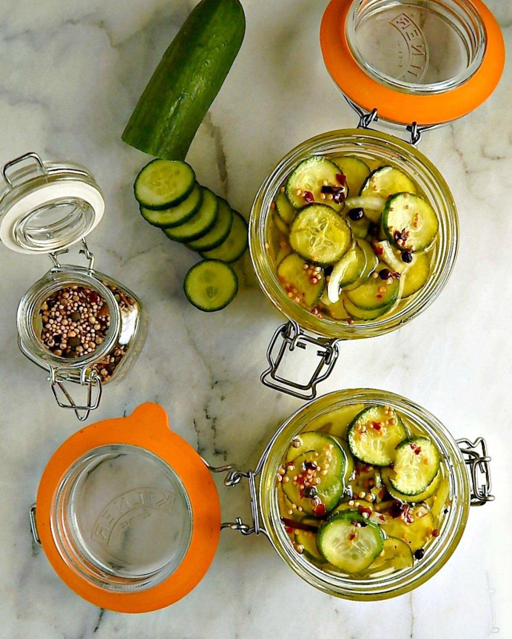 Sweet Tart Bread & Butter Pickles