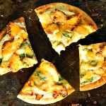 Cajun Chicken Flatbread Pizza