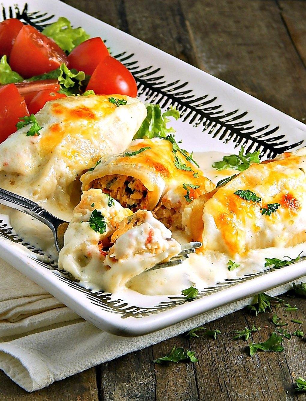 Creamy Cajun Stuffed Shells