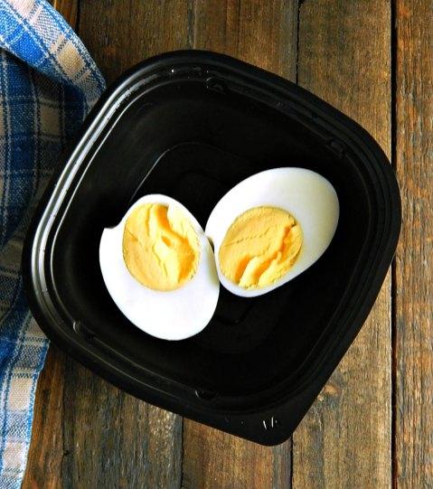 Snack Meal Prep Hard Boiled Eggs