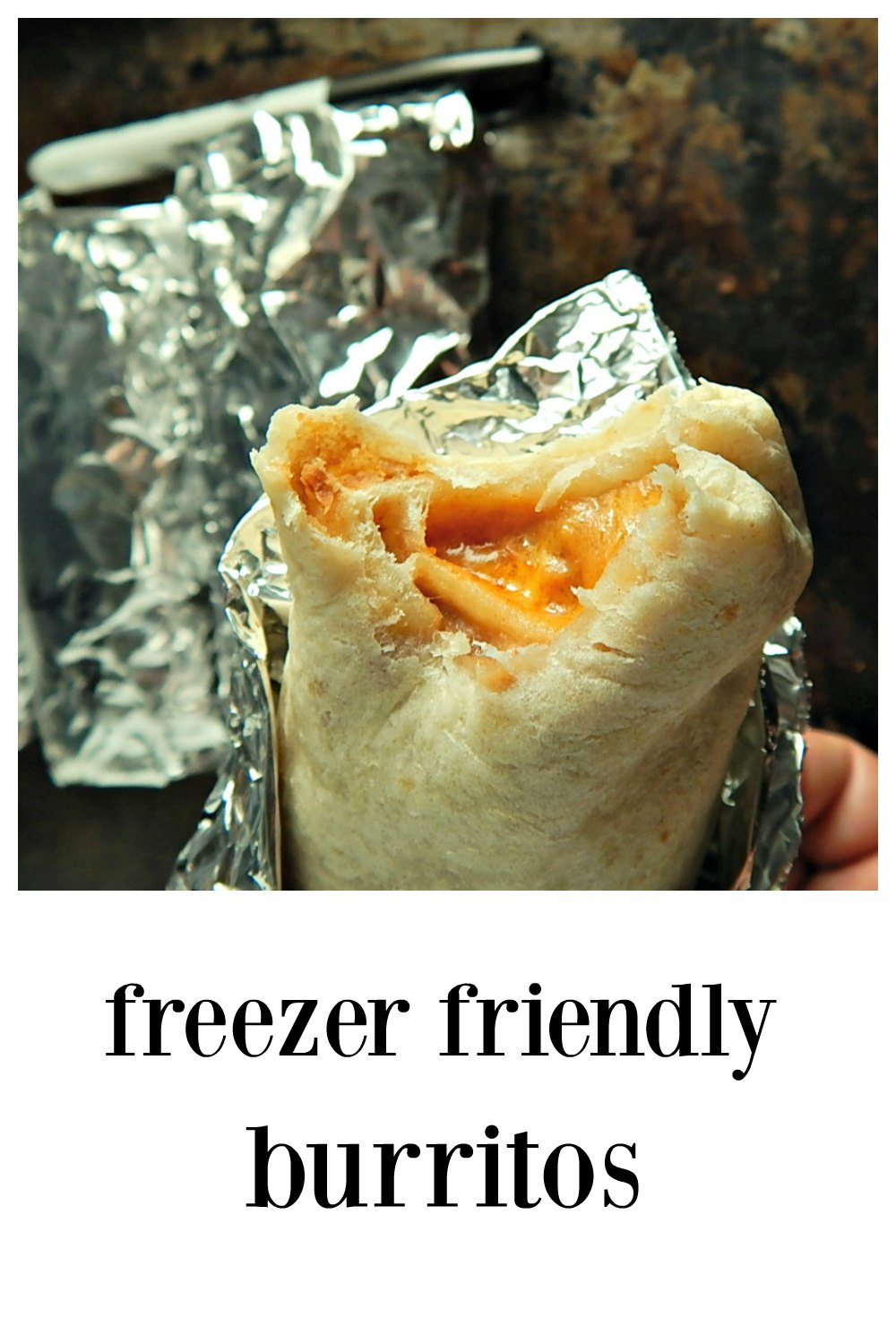 Having a stash of Freezer Friendly Burritos is kind of life-changing! They're a great fall back for dinner and make fantastic snacks. #FreezerBurritos #FreezerFriendlyBurritos #FrozenBurritos