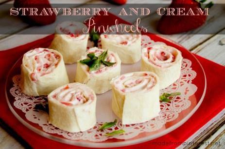 Strawberry Cream Cheese Pinwheels from This Grandma is FUN