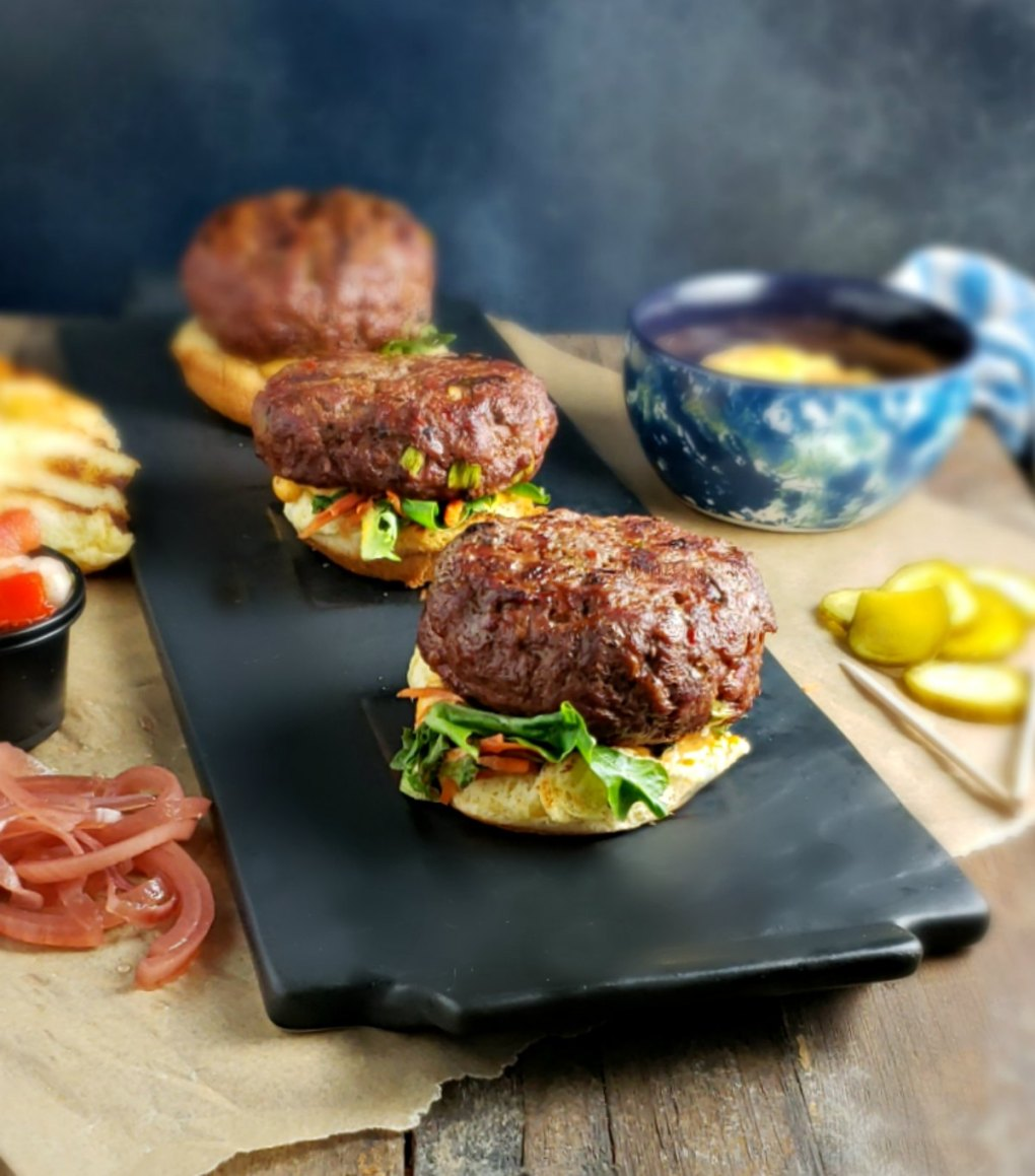 eta Stuffed Harissa Sliders