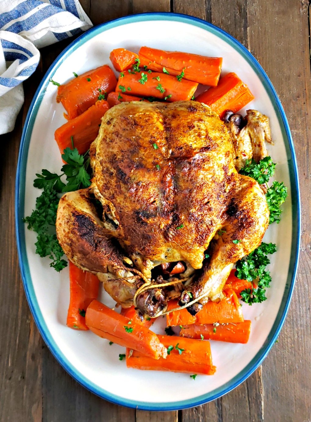 Instant Pot Roasted Chicken