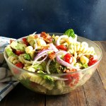 Avocado Tomato Bacon Pasta Salad