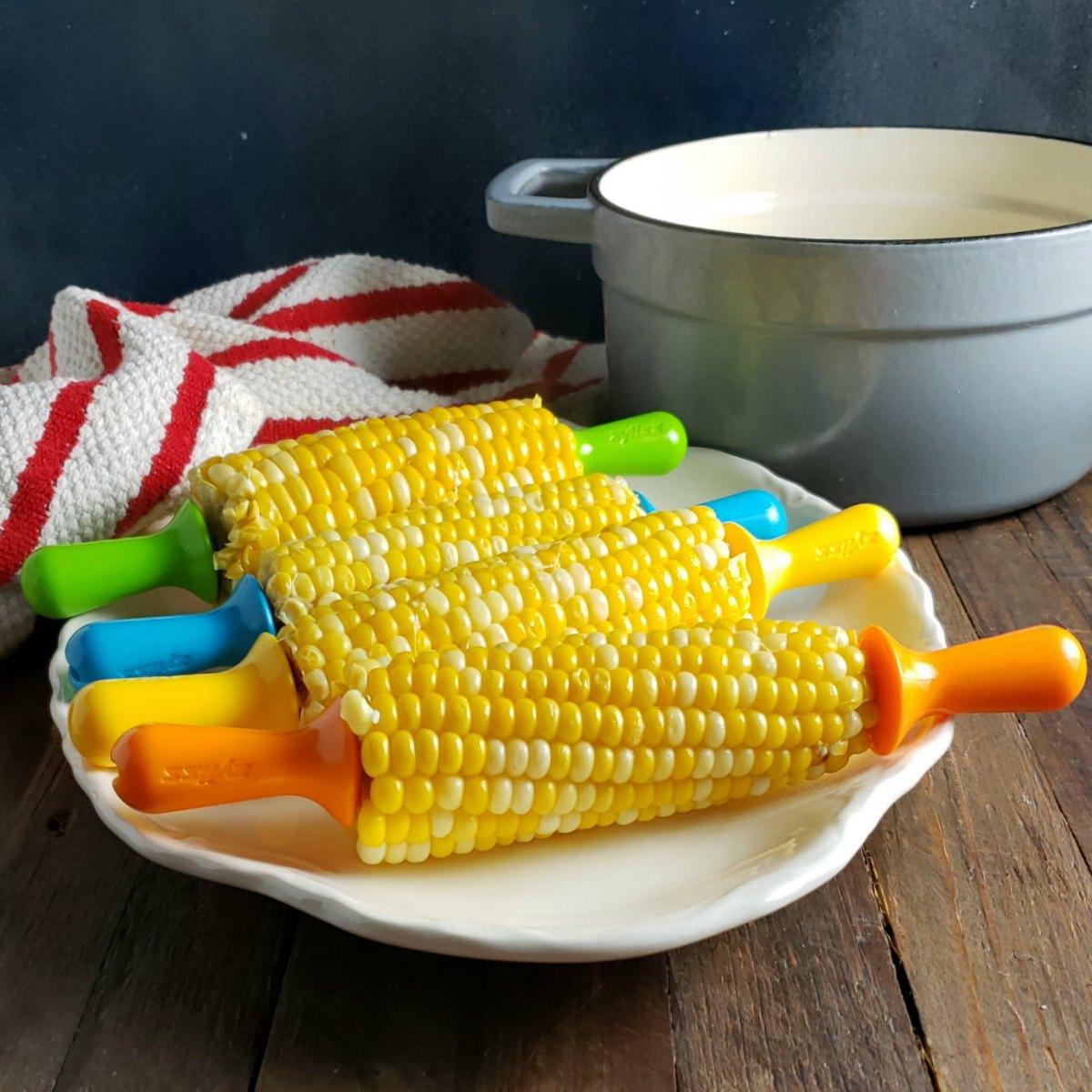 Sweet Corn In Milk Butter Frugal Hausfrau