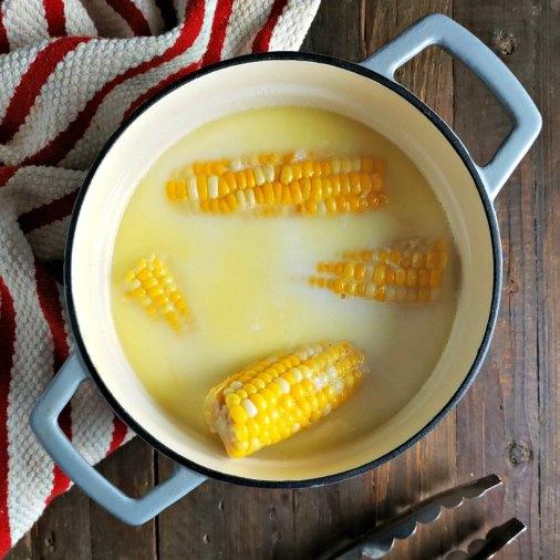 Sweet Corn in Milk & Butter