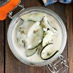 Cucumber Sour Cream Salad