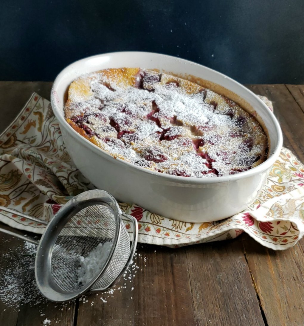 Julia Childs Berry Clafoutis
