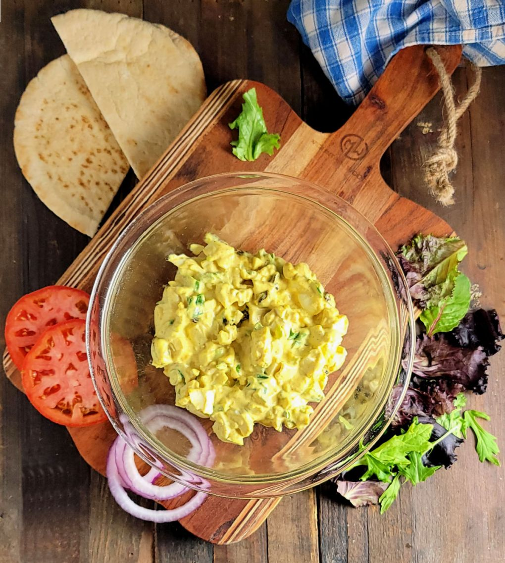 Easy Curried Egg Salad