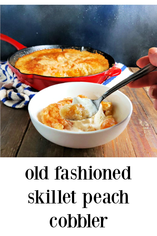 pin Old Fashioned Peach Cobbler