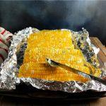 Oven Roasted Sweet Corn