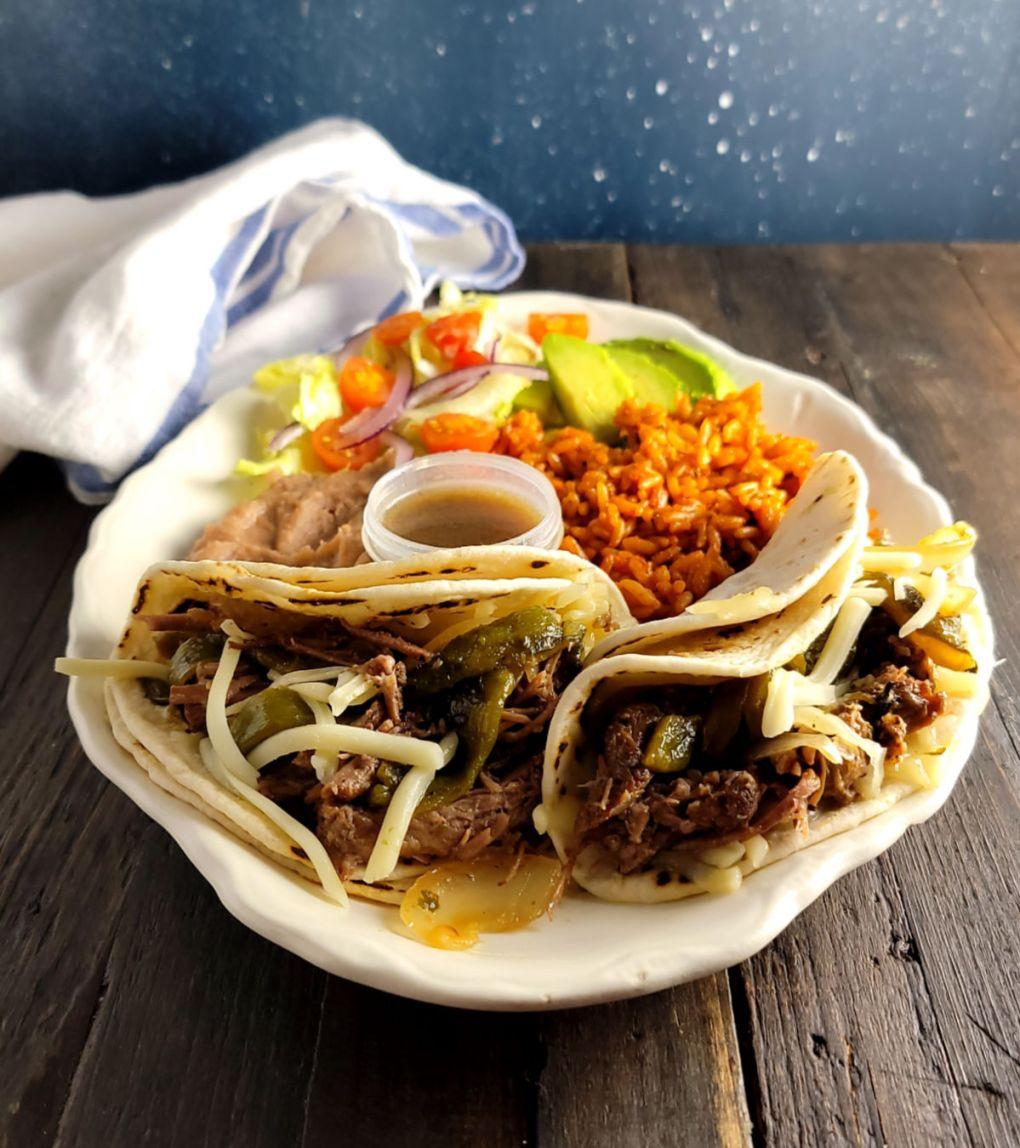 Instant Pot Brisket Street Tacos