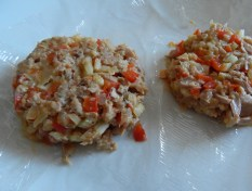 Tuna Cakes can be frozen - bread them from frozen state.