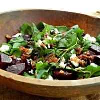 Arugula, Goat Cheese & Beet Salad