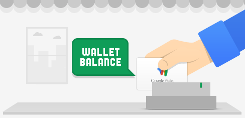 Google Wallet Debit Card Swipe Image