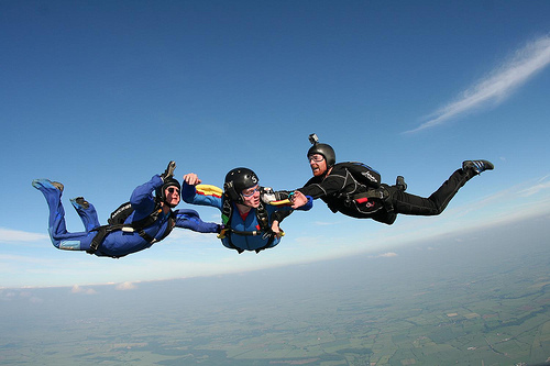 Skydiving Save Money